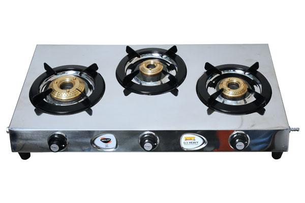 Perfect 3 Burner Gas Stove